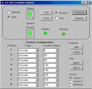 Crucible Indexer Software